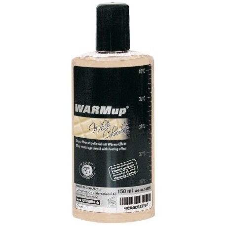 Huile de Massage Warmup Chocolat Blanc 150ml