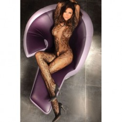 ABRA BODYSTOCKING – BLACK XL/XXL
