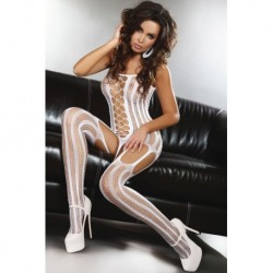 ALMAS BODYSTOCKING – BLANC