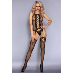 ARETA BODYSTOCKING SCHWARZ