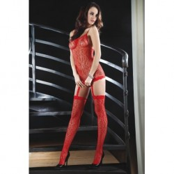 CATRIONA BODYSTOCKING – RED