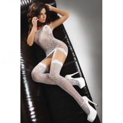 CATRIONA BODYSTOCKING – WHITE