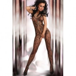 EDEN BODYSTOCKING – BLACK