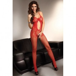 MAGALI BODYSTOCKING – ROUGE