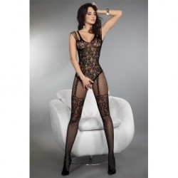TEMPERANCE BODYSTOCKING SCHWARZ