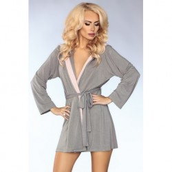 INNOCENT ROSE HOODED ROBE - MODEL 100
