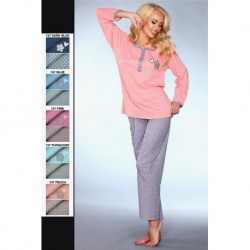 MODEL 747 PAJAMAS – BLUE