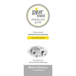 Lubrifiant Pjur Med Premium Glide Sachet 1,5 ml