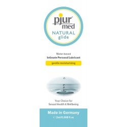 PJUR MED NATURAL GLIDE SACHET 2ML
