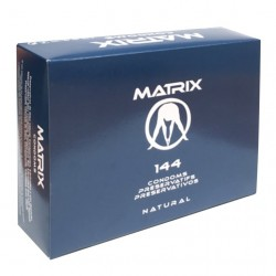 MATRIX CONDOMS NATURAL - BOX OF 144