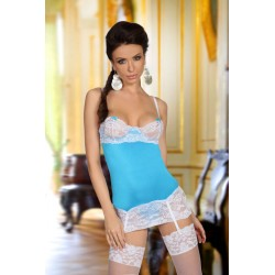 SHIRLEY CHEMISE LIGHT BLUE