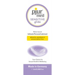 PJUR MED SENSITIVE GLIDE BOLSITA 2ML