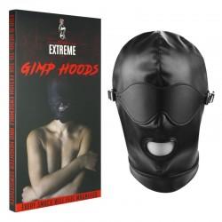 Gimp Mask Hood mit abnehmbarer Augenbinde