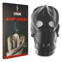 Gimp Mask Hood with Removable Muzzle
