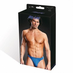 BLUE LINE Performance Microfiber Thong blue L/XL