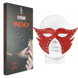Maschera di Pelle Catwoman - Rossa