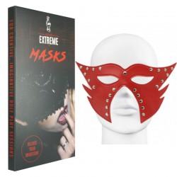 Masque en Cuir Catwoman - Rouge
