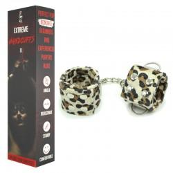 Leopard Print Handcuffs