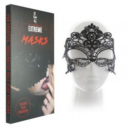 Sexy Lace Maskerade-Maske - Schwarz