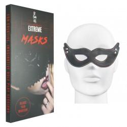 Máscara en Cuero Puntada Arco Iris