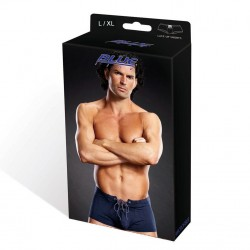 BLUE LINE Microfiber Lace-Up Trunk blau L/ XL