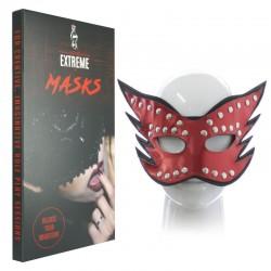 Máscara Sexy en Cuero con Clavos