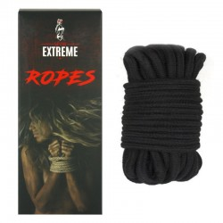 Bondage Cotton Rope 5m - Black