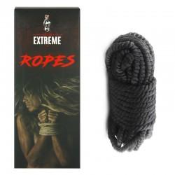 Bondage Silk Rope 10m - Black