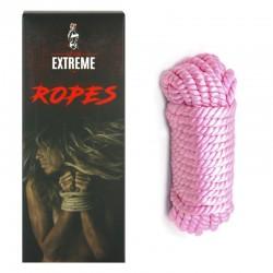 Bondage Seidenseil 5m - Rosa