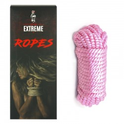 Cuerda Seda Bondage 5m - Rosa
