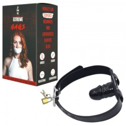 Penis Mouth Gag With Lock - Small