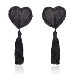 Copricapezzoli Black Hearts