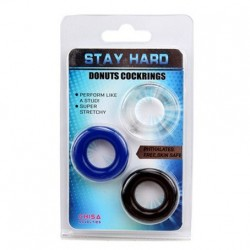 Anelli per il Pene Donut Stay Hard