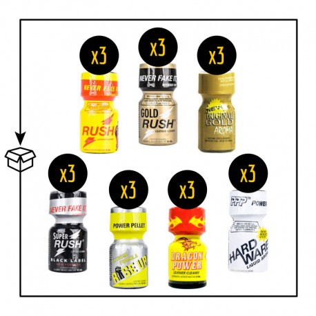 Pack Poppers Bayonne