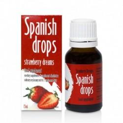Gouttes Spanish Drops Fraise 15ml