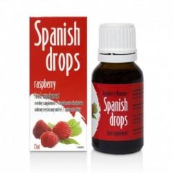 Gouttes Spanish Drops Framboise 15ml