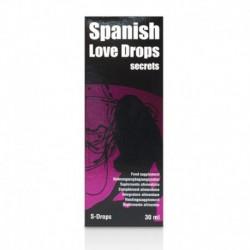 Gouttes Spanish Love Drops Secrets 30ml