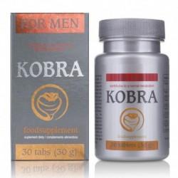 Stimulant masculin Kobra 30 Tabs