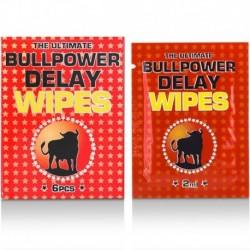 Bull Power Delay Wipes Sachets 6x2ml Retardierende Tücher