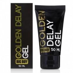 Gel Retardante para el Pene Big Boy - Golden Delay Gel 50ml