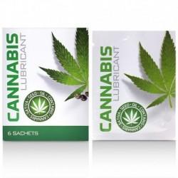 Lubricante Cannabis Lube Bolsitas 6x4ml