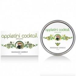 Cobeco Candle Appletini Cocktail 150gr Massage Kerze