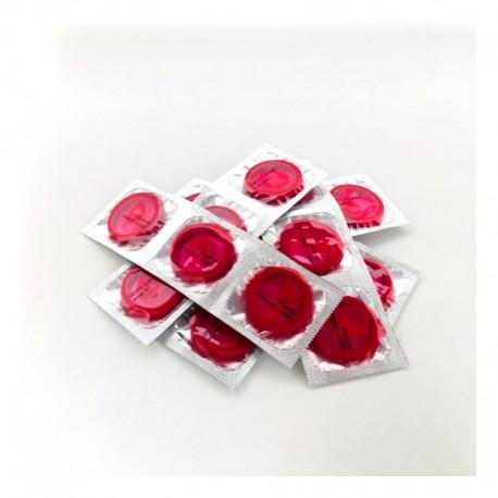 Viva Strawberry Condoms - Unit