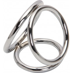 Triple Steel Cock Ring