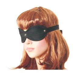 Black cotton blindfold