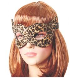Maschera per gli occhi leopardata