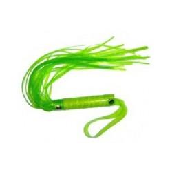 Látigo de cuero de imitación Verde