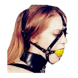 Ball Gag Harness 050
