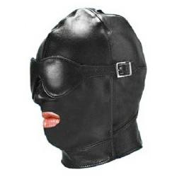 Cappuccio con maschera Gimp con benda rimovibile
