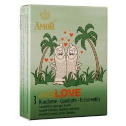 Condones Amor Wild Love Pack 3
